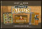2016 Leaf Lumber Kings Hockey Sealed HOBBY BOX (4 Hits per box!)