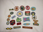 Misc Lot of 23 Girl Scout Patches