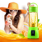 New Portable Rechargeable Juicer Cup Mixer USB Vegetable Fruit Bottle Blender