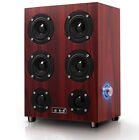 Retro Wood Home Computor Speakers For Game Listening music Table 4.0 Subwoofer