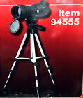 703 Gordon 20x 40X 60x Zoom Spotting Scope w Tripod  Case Model 94555