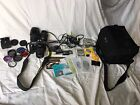 Nikon D50 61MP Digital SLR Camera Bundle with 3 Lenses