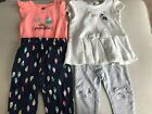 Carters Baby Girl Outfits 12 18 Months Lot Of 2