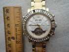 mens elgin automatic watchruns well on timemissing handmissing band clasp