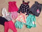 Lot Of Baby Girl Clothes 6 Months Carters Spring Summer