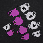 Teapot Shaped DIY Cutting Dies Scarpbooking Decor Metal Template Stencil Album