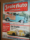 Scale Auto Enthusiast Magazine October '88 High Tech Woodie How to Design Decals