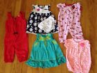 Lot Of Baby Girl Clothes Carters Size 6 Months Dresses Spring Summer