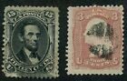 Vintage US Stamp Collection 2 Used No Gum Stamps Lot  12