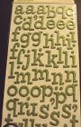 American Crafts Thickers Glitter Chipboard Letter Stickers Sprinkles