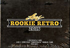 2016 Leaf Rookie Retro Multisport SEALED 5-Box HOBBY CASE
