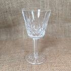 Waterford Crystal Claret Wine Glass Lismore Pattern 5 7/8
