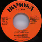 HOMOSA SOUND Lets Party HERB SIMS JR You Sweet You 7 45 MODERN SOUL FUNK