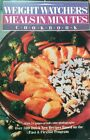 Weight Watchers Meals in Minutes Cookbook Fast And Flexible HC 1989
