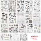 New Silicone Clear Rubber Stamps Scrapbooking Album Card Making Decor DIY Craft
