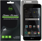 2 Pack Dmax Armor Privacy Anti Spy Screen Protector for LG Phoenix 3