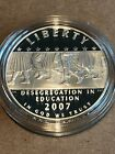 2007 P LITTLE ROCK PROOF SILVER DOLLAR US MINT COMMEMORATIVE COIN