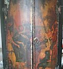 Antique Painted European Corner Cabinet, 18th Century Europe, Bible S