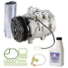 New AC Compressor  Clutch With Complete A C Repair Kit fits Geo Tracker