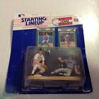 1989 Kenner Starting Lineup One On One Wade Boggs & Don Mattingly
