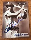 Ralph Kiner Baseball Cards and Autographed Memorabilia Guide 31