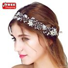 Hairbands Tiara Bridal Wedding Vintage Crystal Pearl Hair Accessories Headpiece