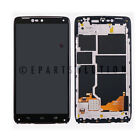 Black Motorola Droid Turbo XT1254 LCD Digitizer Touch Screen + Frame Assembly
