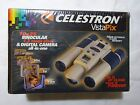 Celestron VistaPix 10 X 25 Binocular Wi 13 MP Camera SEALED Model 77208