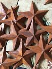 Lot of 25 Rusty Barn Stars 3.5 in 3 1/2