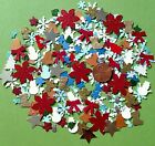 Christmas mix punches cuts assorted scrapbook DIY craft die cut lot