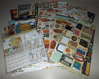Huge Travel  Vacation Scrapbook Lot Simple Stories Basic Grey K  Company