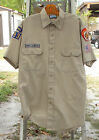 ROYAL RANGERS KHAKI SHIRT FLORIDA SHORT SLEEVE SIZE 16  3 G