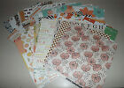 Huge Lot of Teresa Collins 12x12 Double Sided Scrapbook Paper 37 Pages