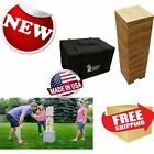 Yard Games Giant Tumbling Timbers Outdoor lawn Activity Sports Game Family New