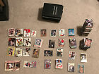1662 Football Baseball Card Lot From the 80s 00s 8 Collectors Books included