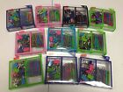 LOT OF 10 STAPLES PAPER CLIPS AND BINDER CLIPS COMBO 65 PCS ASSORTED COLORS NEW
