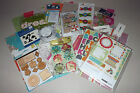 Summer Paper  Embellishment Lot Prima Recollections Kaisercraft Basic Grey