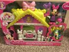 New Disney Minnie Mouse Jump n Style Pony Stable Play Set 2+ Toddler Girl Toy