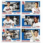 2016 Topps Throwback Thursday All-American US Military Complete Set #19-24 SP