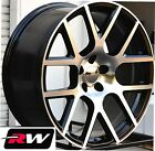 Chrysler 300 C S Wheels 20 inch Challenger Scat Pack Black Machined Replica Rims