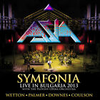 ASIA-With The Plovdiv Opera Orchestra ‎–Symfonia -Live In Bulgaria 2013 2 CD NEW
