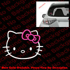 Hello Kitty Head Die Cut Vinyl Decal Sticker For Phonecarwindowlaptop Hk001