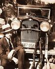 BONNIE AND CLYDE VINTAGE PHOTO CLYDE BARROW SHOTGUN RIFLE PISTOLS FORD V8 20557