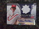 2004 ULTIMATE COLLECTION ALL-STARS SIGNATURES STEVE CARLTON AUTOGRAPH 7 10
