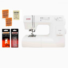 Janome HD3000 Sewing Machine with Hard Case Ultra Glide Foot, Blind Hem Foot