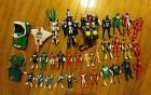 Power Rangers large lot of figures  vehicles bandai over 30 items
