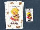 Suzy Zoo Greeting Card  Stickers Get Well Suzy  Her Teddy Bear