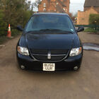 LARGER PHOTOS: 2006 56 Dodge Grand Caravan Black Chrysler Grand Voyager LHD Left Hand Drive 46K