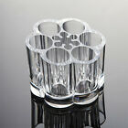 NEW MAKEUP BRUSH FLOWER SHAPED ORGANIZER ACRYLIC COSMETIC DISPLAY STAND