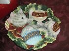 Fitze and Floyd Christmas canape dish, Kristmas Kitty